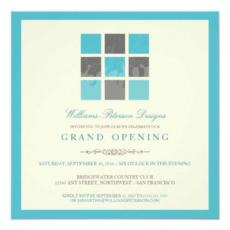 business opening invitation cards templates business invitation designs free premium templates