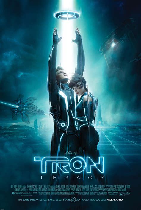 film blue original new poster for tron legacy starring garrett hedlund and