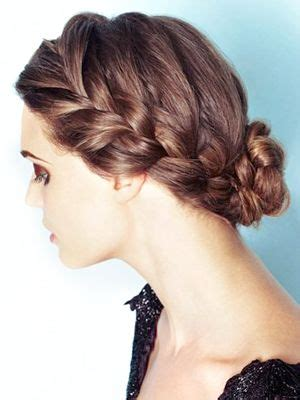 french braid bun on empire 1000 images about hair on pinterest my hair curly hair