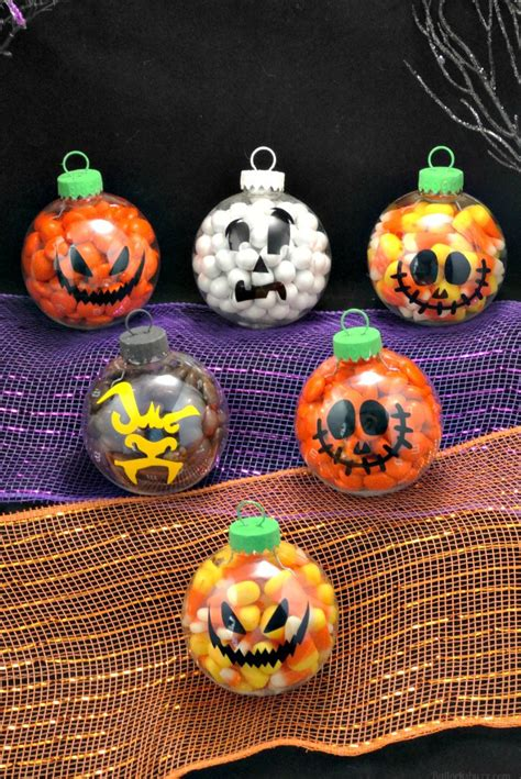 Home Made Decorations For Christmas diy halloween candy ornaments halloween treats