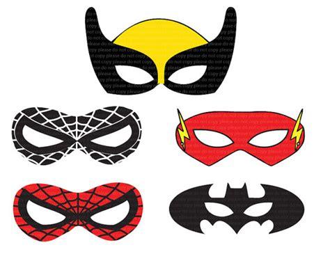 Printable Super Heroes Mask | superhero printable mask partylicious pinterest