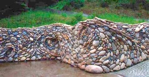 rock garden walls wow this took my breath away a quot river quot rock garden wall