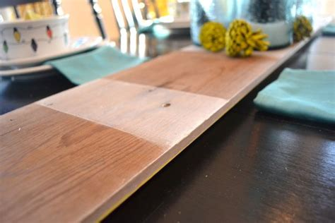 wood grain table runner simple striped barn wood table runner newlywoodwards