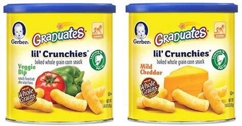 Gerber Crunchies 42gr gerber graduates lil crunchies cheddar
