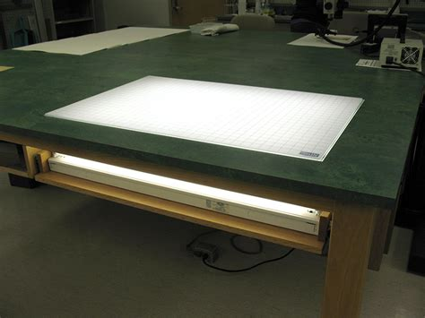 light up drawing table 1091 project a lab with a view or not parks library