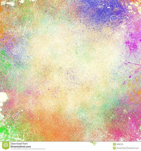 abstract splatter paint background stock illustration image 35663752