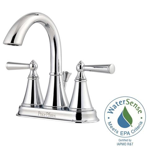 Pfister Canton Faucet by Pfister Canton 4 In Centerset 2 Handle Bathroom Faucet In