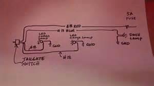 tailgate light bar wiring diagram get free image about wiring diagram