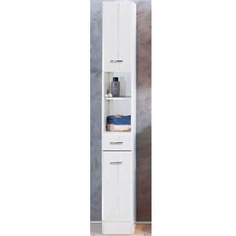 nischenschrank 20 cm breit schmaler badezimmer hochschrank in wei 223 doreen