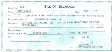 irrevocable standby letter of credit template excellent bill of exchange template photos exle