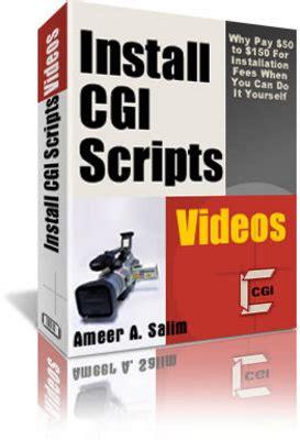 Plr Tutorial install cgi scripts tutorial plr tutorials