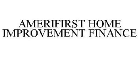 amerifirst home improvement finance reviews brand