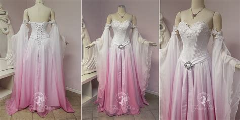 hochzeitskleid elfe sakura elven bridal gown by firefly path on deviantart