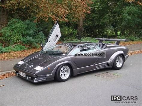 1990 Lamborghini Countach 1990 Lamborghini Countach Car Photo And Specs