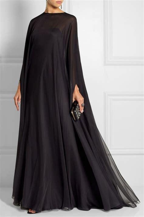 latest black plain abaya designs collection