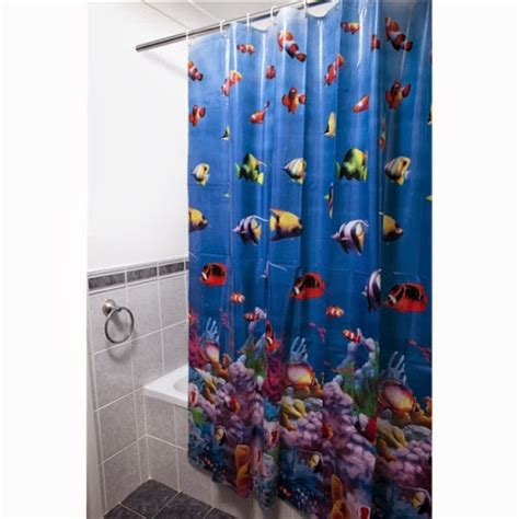 Finding Nemo Bathroom Shower Curtain For Kids
