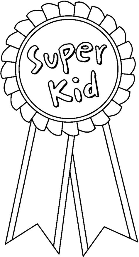 coloring page prize ribbon crafts for kids enchantedlearningcom party invitations ideas