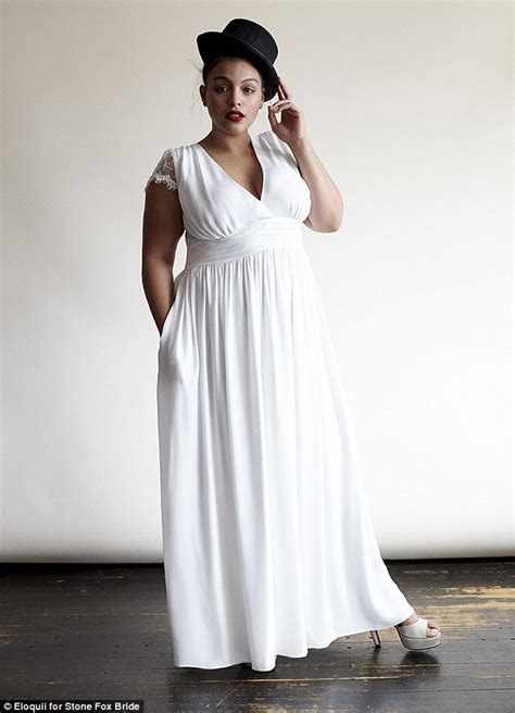 fox wedding dress collection debuted by plus sized