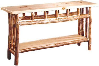 Pioneer Handcraft Furniture - pioneer handcrafted log furniture when ordinary