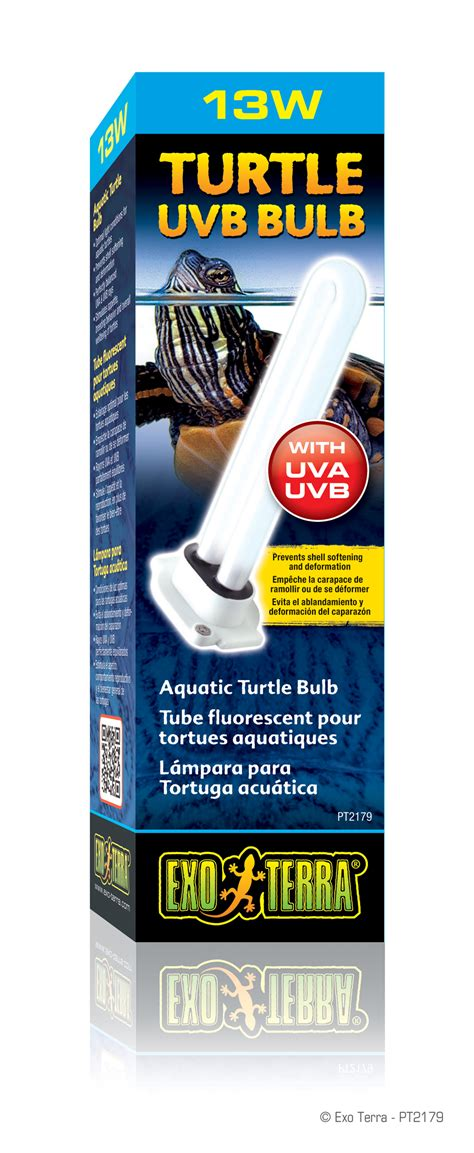 uvb l for turtles exo terra turtle uvb tube fluorescent 224 rayons