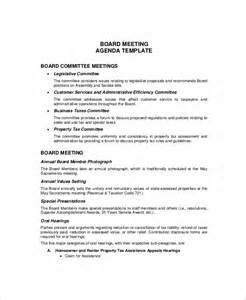 Sales Meeting Agenda Template by 12 Budget Meeting Agenda Templates Free Sle Exle