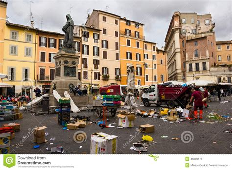 ci de fiori place de co de fiori 224 rome italie photo 233 ditorial