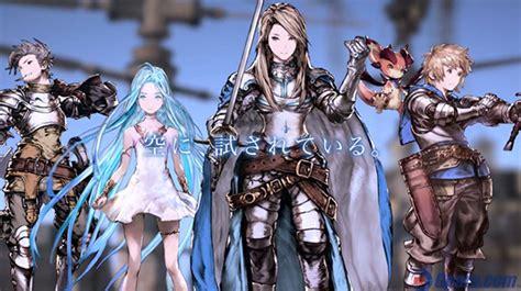 le jeu granblue fantasy adapt 233 en anime
