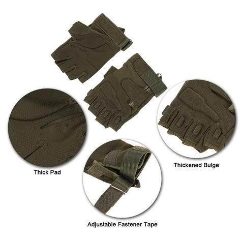 Sarung Tangan sarung tangan motor half finger size l black jakartanotebook