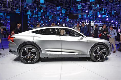 Audi Sportback E Tron by Audi E Tron Sportback Concept Full Electic Car Details