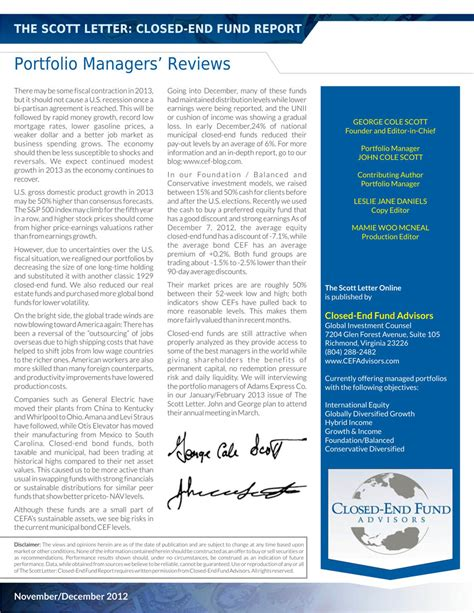 Serious Professional Newsletter Design For Closed End Fund Advisors By Theziners Design 1552994 Professional Newsletter Templates