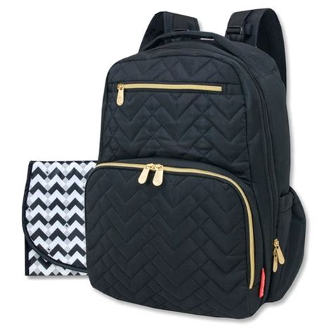 Quilted Back Pack by Fisher Price Quilted Backpack Black Target