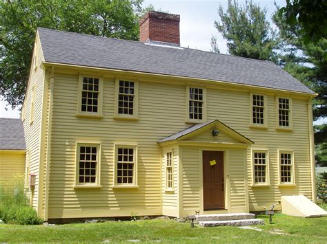 Saltbox Architecture File Jason Russell House Arlington Massachusetts Jpg