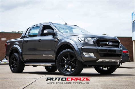 ford avalanche ford ranger avalanche matte black milled font car