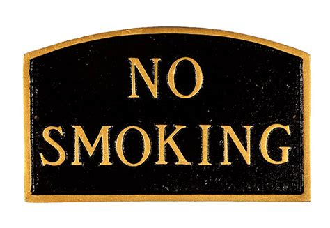 no smoking sign large large 21 x 13 no smoking sign
