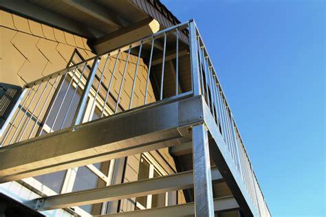 was kostet ein edelstahlgel nder balkone aus stahl balkone und balkonanlagen planen bauen