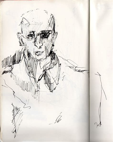 Sketches Here And There by Joanna Jakubowska Personal Observational Drawing