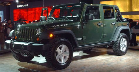 dark green jeep wrangler unlimited file wrangler rubicon jpg wikimedia commons