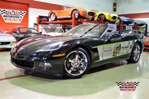 2008 Corvette Pace Car by 2008 Chevrolet Corvette Indy 500 Pace Car Replica Stock