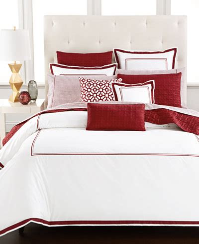 Hotel Collection Frame Bedding Hotel Collection Embroidered Frame King Duvet Cover Only At Macy S Bedding Collections Bed