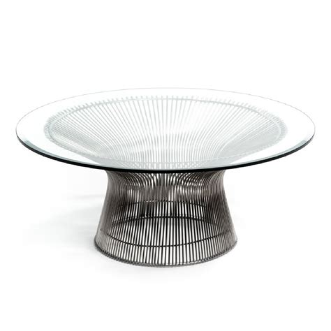 strand round glass coffee table buy glass coffee tables