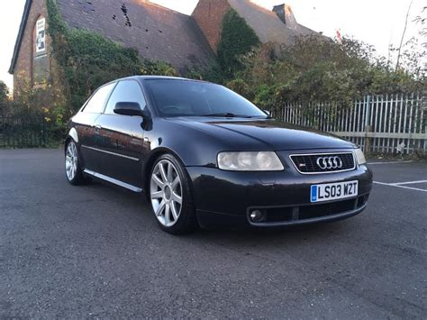 2003 black audi a3 1 8t r 59 900 for sale in edenvale audi s3 2003 1 8t quattro bam black 8l hpi clear 3dr remapped 250 260bhp in leamington spa