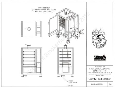 Gravity Feed Cabinet Style Smoker Cabinet Style Smokers