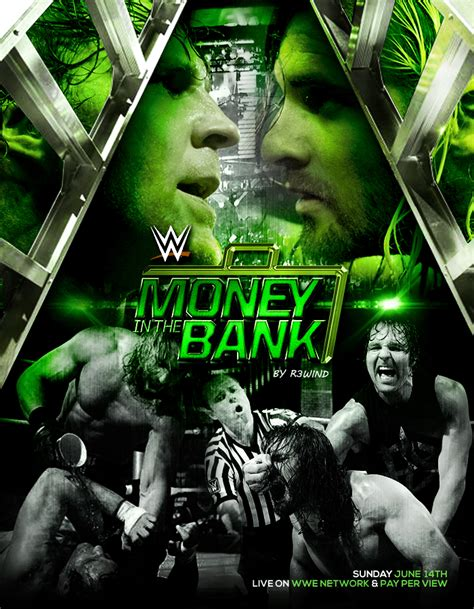 c a money bank money in the bank i didn t actually look at the poster