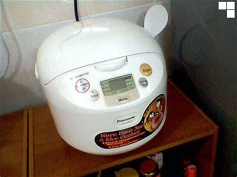 Rice Cooker Si Jempol m staken nsan ty aku berjaya masak kek