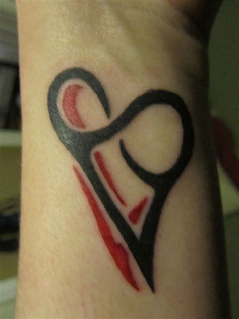 beautiful heart tattoo designs endless www pixshark images