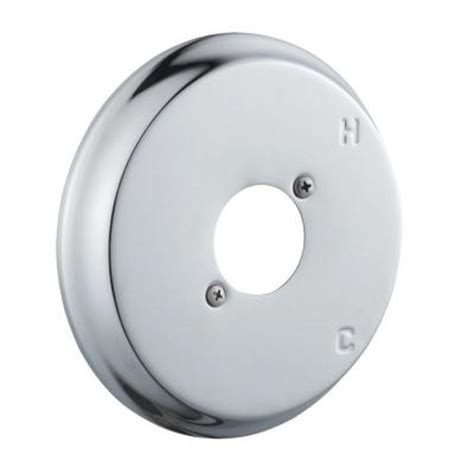 Shower Escutcheon Plate by Design House Shower Escutcheon Plate Kit In Polished