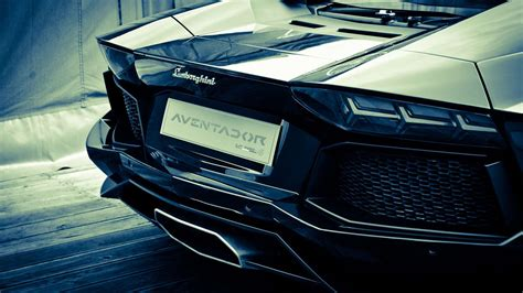 Aventador Lights by Lamborghini Aventador Rear Lights On Hd Wallpapers From