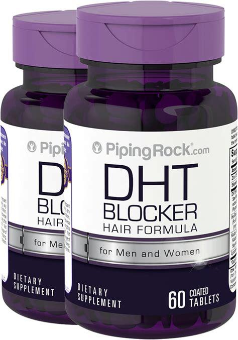 saw palmetto dht blocker dht blocker supplement for men women 2 bottles x 60