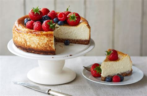gluten free baked vanilla cheesecake tesco real food