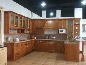 Wooden Kitchen Furniture China Solid Wood Kitchen Cabinet B18 China Kitchen